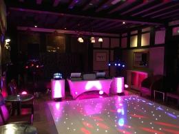 Wedding Setup at The Belle Epoque, Knutsford